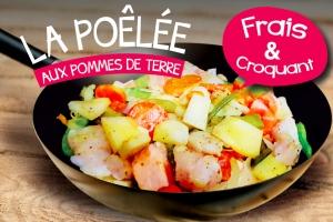 Poêlée de Pomme de terre de Noirmoutier
